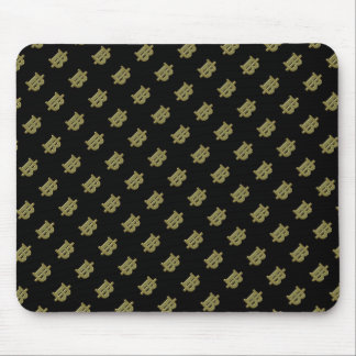GOLDBaht-ZEICHEN ฿ thailändisches Geld-Währung ฿ Mousepad