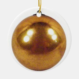 Goldball Keramik Ornament
