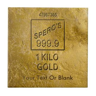 GoldBar Keramikfliese