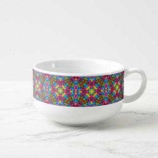 Goldbergmann-Kaleidoskop-Suppen-Tassen Große Suppentasse