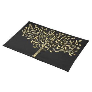 Goldblatt-Baum-Tischsets Tischset