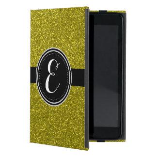 GoldBling Glitter personalisierter Ipad Fall iPad Mini Etui