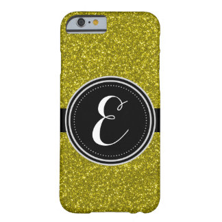 GoldBling Glitter personalisierter Iphone Fall Barely There iPhone 6 Hülle