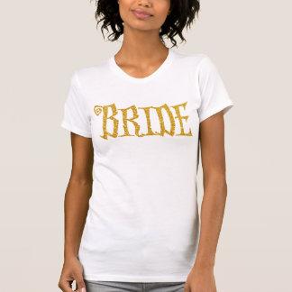 Goldbraut-Shirts für Halloween-Party T-Shirt