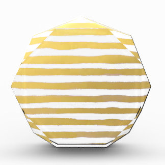 Goldbrushstroke-Aquarell-Streifen Auszeichnung