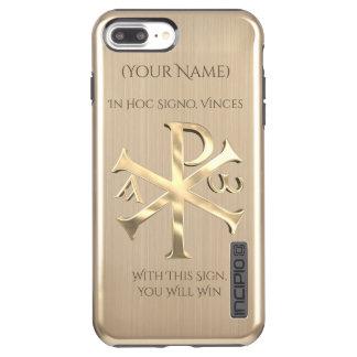 Goldc$chi-rho Incipio DualPro Shine iPhone 8 Plus/7 Plus Hülle