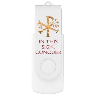Goldchirho-Zeichen USB Stick