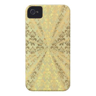 Golddamast iPhone 4 Case-Mate Hüllen