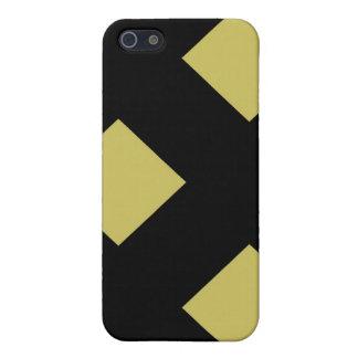 Golddiamanten im Öl-Speck-Fall iPhone 5 Schutzhülle