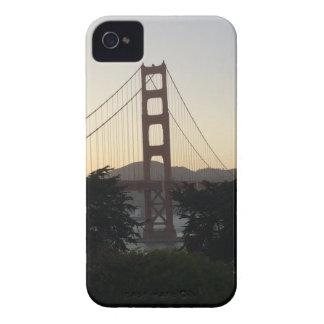 Golden gate bridge am Sonnenuntergang iPhone 4 Cover