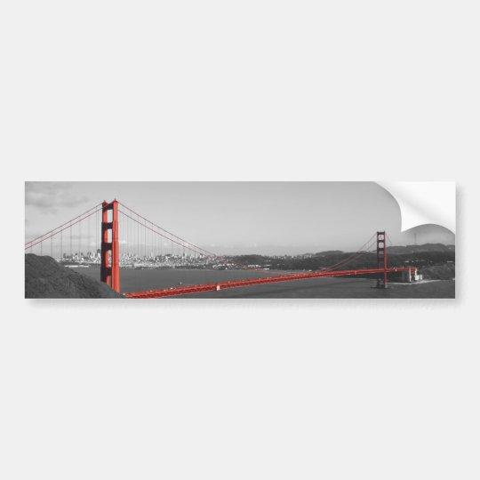 Golden Gate Bridge Autoaufkleber