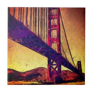 Golden gate bridge fliese