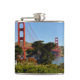Golden gate bridge in San Francisco Kalifornien Flachmann