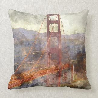 Golden gate bridge in San Francisco Kalifornien Kissen