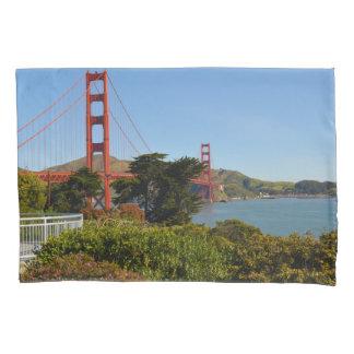 Golden gate bridge in San Francisco Kalifornien Kissen Bezug