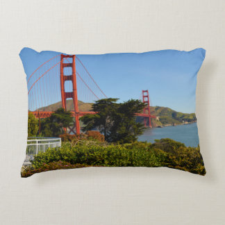 Golden gate bridge in San Francisco Kalifornien Zierkissen