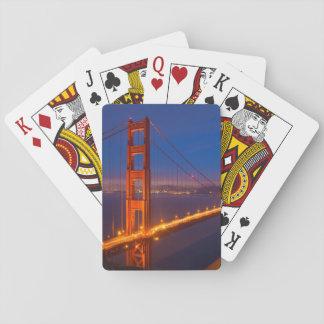 Golden gate bridge, Kalifornien Spielkarten