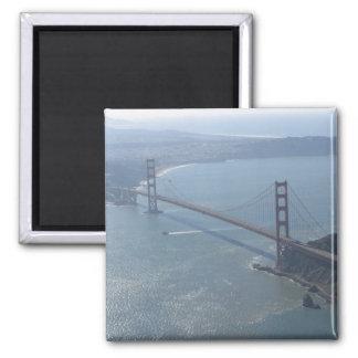 Golden gate bridge-Magnet Quadratischer Magnet
