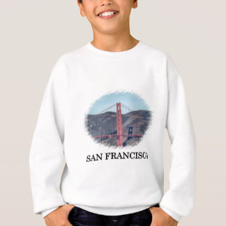 Golden gate bridge-Nahaufnahme Sweatshirt
