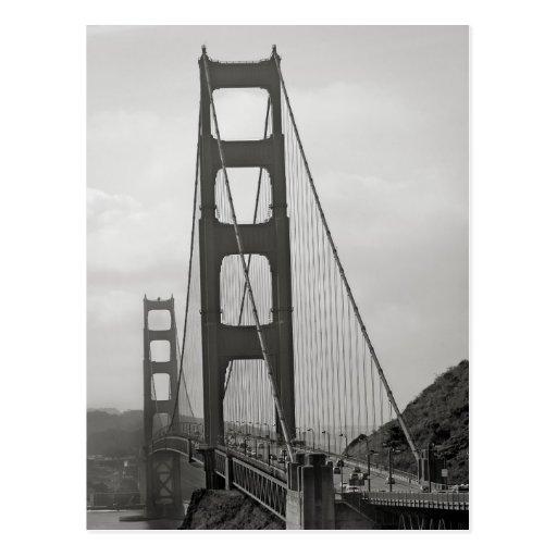 Golden gate bridge-Postkarte