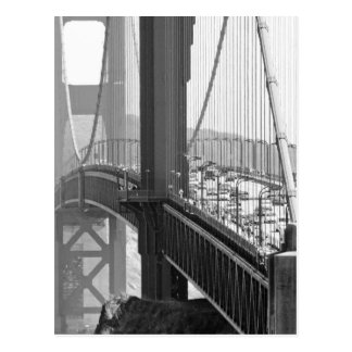 Golden gate bridge postkarte