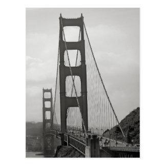 Golden gate bridge-Postkarte Postkarten