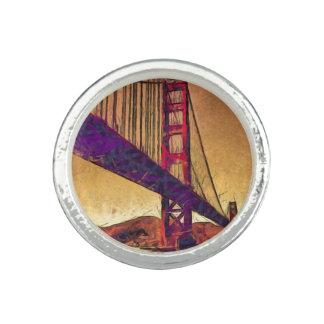 Golden gate bridge ring
