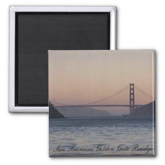 Golden gate bridge, San Francisco Golden Gate B… Quadratischer Magnet