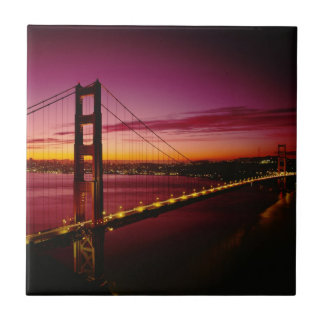 Golden gate bridge, San Francisco, Kalifornien 3 Fliese