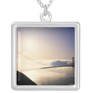 Golden gate bridge, San Francisco, Kalifornien, 4 Versilberte Kette