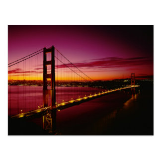 Golden gate bridge, San Francisco, Kalifornien, 5 Postkarte