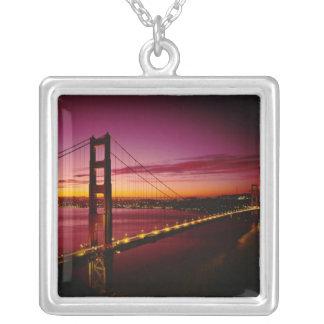 Golden gate bridge, San Francisco, Kalifornien, 5 Versilberte Kette