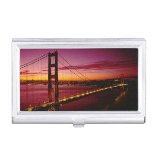 Golden gate bridge, San Francisco, Kalifornien, 5 Visitenkarten Etui
