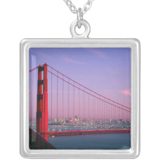 Golden gate bridge, San Francisco, Kalifornien, 7 Versilberte Kette