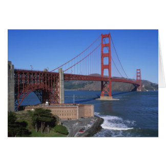 Golden gate bridge, San Francisco, Kalifornien, 8 Karte