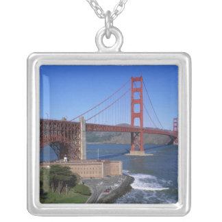 Golden gate bridge, San Francisco, Kalifornien, 8 Versilberte Kette