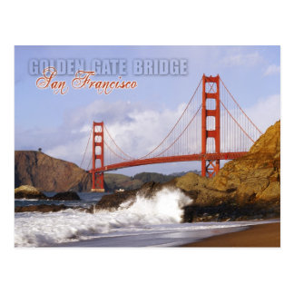 Golden gate bridge, San Francisco, Kalifornien Postkarte