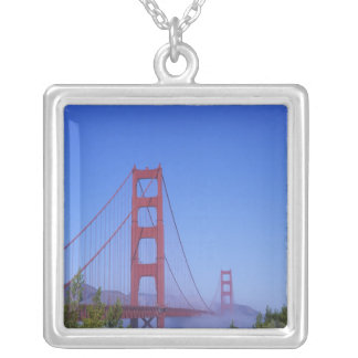 Golden gate bridge, San Francisco, Kalifornien, Versilberte Kette