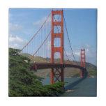 Golden gate bridge, San Francisco Kleine Quadratische Fliese