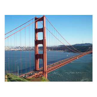 Golden gate bridge, San Francisco Postkarte