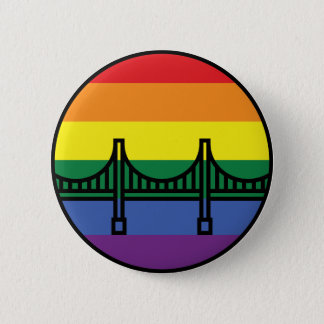 Golden gate bridge-Stolz-Knopf Runder Button 5,1 Cm