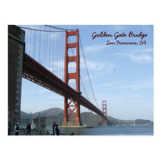 Golden gate bridge - Tageszeit Postkarte