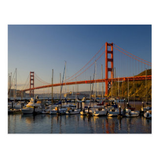 Golden gate bridge und San Francisco 2 Postkarte