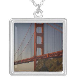 Golden gate bridge und San Francisco Versilberte Kette