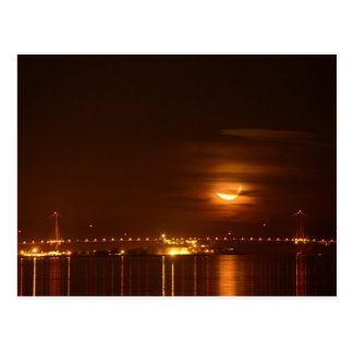 Golden Gate Brücke Mond-Set Postkarte