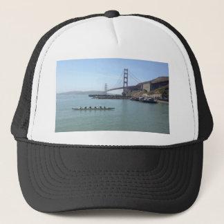 Golden Gate Brücke Shirts mit Auslegerkanu Truckerkappe