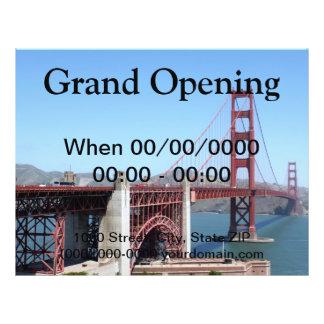 Golden Gate Flyerdruck