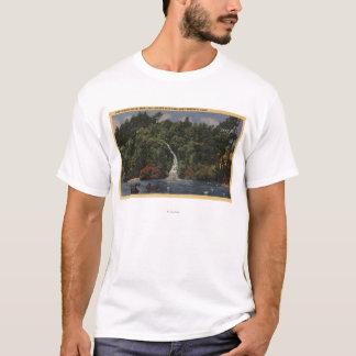 Golden Gate Park, Fälle des Stow See-, Huntington T-Shirt