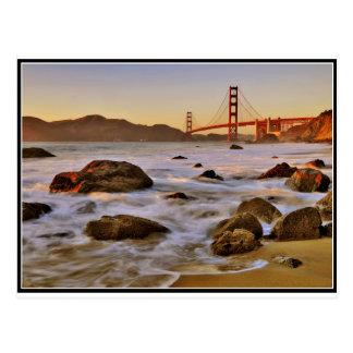 Golden Gate Postkarte