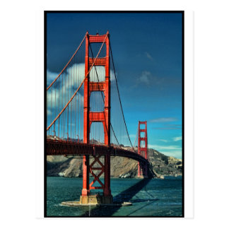 Golden Gate Postkarte